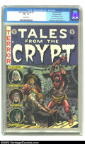 Golden Age (1938-1955):Horror, Tales From the Crypt #31 Gaines File pedigree 9/12 (EC, 1952) CGCNM- 9.2 Off-white pages. Jack Davis' cover incorporated hi...