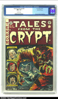 Golden Age (1938-1955):Horror, Tales From the Crypt #35 Gaines File pedigree 6/11 (EC, 1953) CGCNM+ 9.6 Off-white pages. It's fitting that E.C.'s most ver...