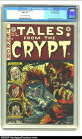 Golden Age (1938-1955):Horror, Tales From the Crypt #35 Gaines File pedigree 8/11 (EC, 1953) CGC NM- 9.2 Cream to off-white pages. This is THE classic Jack...