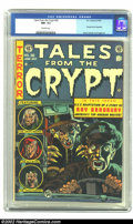 Golden Age (1938-1955):Horror, Tales From the Crypt #36 (EC, 1953) CGC NM- 9.2 Off-white pages.Jack Davis' cover headlines another issue of E.C.'s pre-emi...