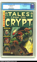 Golden Age (1938-1955):Horror, Tales From the Crypt #38 Gaines File pedigree 9/12 (EC, 1953) CGCVF/NM 9.0 Cream to off-white pages. This is a most brutal ...