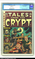 Golden Age (1938-1955):Horror, Tales From the Crypt #39 Gaines File pedigree 2/11 (EC, 1953) CGCNM- 9.2 Off-white to white pages. Cover artist Jack Davis ...