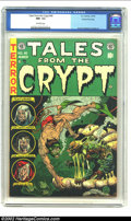 Golden Age (1938-1955):Horror, Tales From the Crypt #40 Gaines File pedigree Certificate Missing(EC, 1954) CGC NM- 9.2 Off-white pages. The undead rises o...