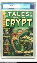 Golden Age (1938-1955):Horror, Tales From the Crypt #40 Gains File Copy pedigree 9/12 (EC, 1954)CGC VF+ 8.5 Off-white to white pages. Imagine this -- you ...