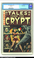 Golden Age (1938-1955):Horror, Tales From the Crypt #41 Gaines File pedigree 9/12 (EC, 1954) CGCVF 8.0 Cream to off-white pages. This Jack Davis cover dep...