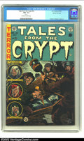 Golden Age (1938-1955):Horror, Tales From the Crypt #42 Gaines File pedigree 2/12 (EC, 1954) CGCNM- 9.2 Off-white to white pages. Jack Davis renders anoth...