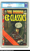 Golden Age (1938-1955):Horror, Three Dimensional EC Classics #1 Gaines File pedigree 7/12 (EC,1954) CGC FN 6.0 Off-white to white pages. The first EC 3-D ...