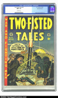 """Golden Age (1938-1955):War, Two-Fisted Tales #29 Gaines File pedigree 8/11 (EC, 1952) CGC NM+9.6 Off-white pages. Kurtzman brought his own view of """"War..."""