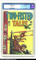 Golden Age (1938-1955):Adventure, Two-Fisted Tales #40 Gaines File pedigree 3/12 (EC, 1955) CGC NM+ 9.6 Off-white to white pages. Relive WW I with this action...