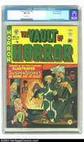 Golden Age (1938-1955):Horror, Vault of Horror #14 Gaines File pedigree 1/9 (EC, 1950) CGC NM- 9.2White Pages. This is an excellent copy of an early horro...