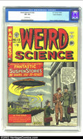 Golden Age (1938-1955):Horror, Weird Science 13 (#2) Cosmic Aeroplane pedigree (EC, 1950) CGC VF+Off-white pages. If you appreciate high-grade EC (don't w...