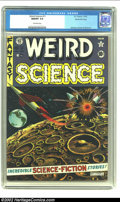 Golden Age (1938-1955):Science Fiction, Weird Science #11 Gaines File pedigree Certificate Missing (EC,1952) CGC NM/MT 9.8 Off-white pages. No other publisher, or ...