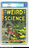 Golden Age (1938-1955):Horror, Weird Science #22 (EC, 1953) CGC 9.0 VF/NM off-white pages. Here isanother one of those jam-packed ECs with so much talent ...