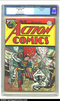 Action Comics #96 Big Apple pedigree (DC, 1946) CGC NM 9.4 Off-white to white pages. As long-time collectors know, there...