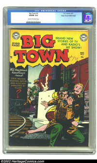 Big Town #3 Mile High pedigree (DC, 1951) CGC VG/FN 5.0 Cream to off-white pages. Vibrant cover colors and nice interior...