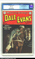 Golden Age (1938-1955):Western, Dale Evans Comics #4 Mile High pedigree (DC, 1949) CGC NM- 9.2Off-white to white pages. Westerns may not be a genre you nor...