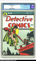 Golden Age (1938-1955):Superhero, Detective Comics #40 (DC, 1940) CGC NM 9.4 Off-white pages. When one thinks of icon books this issue comes immediately to mi...