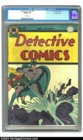 Golden Age (1938-1955):Superhero, Detective Comics #97 Crowley pedigree (DC, 1945) CGC VF/NM 9.0 White pages. Dick Sprang's cover is showcased proudly by this...