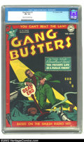 Golden Age (1938-1955):Crime, Gang Busters #2 (DC, 1948) CGC VF+ 8.5 Cream to off-white pages. DC leaps into the crime genre fray with guns ablazing with ...