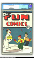 Golden Age (1938-1955):Superhero, More Fun Comics #29 Mile High pedigree (DC, 1938) CGC NM 9.4 Off-white pages. This book is the ultimate in comic book perfec...