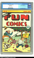 Golden Age (1938-1955):Adventure, More Fun Comics #34 Mile High pedigree (DC, 1938) CGC NM 9.4 Off-white to white pages. A book that is rare in any condition,...