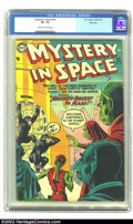 Golden Age (1938-1955):Science Fiction, Mystery in Space #23 River City pedigree (DC, 1955) CGC VF- 7.5Cream to off-white pages. Murphy Anderson provides a great c...
