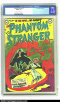Golden Age (1938-1955):Horror, The Phantom Stranger #2 (DC, 1952) CGC FN/VF 7.0 Cream to off-whitepages. Here is a scarce issue of this short run, this so...