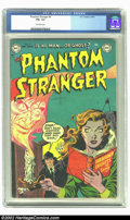 Golden Age (1938-1955):Horror, The Phantom Stranger #4 (DC, 1953) CGC FN+ 6.5 Off-white pages.Carmine Infantino and Sy Berry show us what can happen when ...