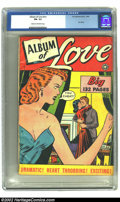 Golden Age (1938-1955):Romance, Album of Love #nn (Fox Features Syndicate, 1949) CGC FN- 5.5 Creamto off-white pages. Here is one of those great Fox Gian...