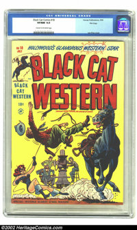 Black Cat #18 File Copy (Harvey, 1949) CGC VF/NM 9.0 Cream to off-white pages. The fact that CGC hasn't certified anothe...