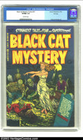 Golden Age (1938-1955):Horror, Black Cat Mystery #37 File Copy (Harvey, 1952) CGC VF/NM 9.0Off-white pages. We'll forgive you if you don't associate the a...