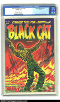 Golden Age (1938-1955):Horror, Black Cat Mystery #44 File Copy (Harvey, 1953) CGC VF/NM 9.0 Creamto off-white pages. Relatively tame by the extreme standa...