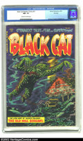 Golden Age (1938-1955):Horror, Black Cat Mystery #51 File Copy (Harvey, 1954) CGC NM- 9.2 Cream tooff-white pages. The eerie, shimmering underwater-scene ...