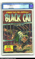 Golden Age (1938-1955):Horror, Black Cat Mystery #52 File Copy (Harvey, 1954) CGC VF/NM 9.0 Creamto off-white pages. This sharp copy seems to be conservat...