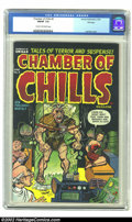 Golden Age (1938-1955):Horror, Chamber of Chills #9 File Copy (Harvey, 1952) CGC FN/VF 7.0 Creamto off-white pages. Heritage is pleased to offer a number ...