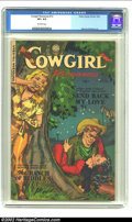 Golden Age (1938-1955):Romance, Cowgirl Romances #12 (Fiction House, 1953) CGC VF+ 8.5 Off-whitepages. Fiction House covers from this period were probably ...