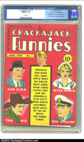 Golden Age (1938-1955):Humor, Crackajack Funnies #1 Mile High pedigree (Dell, 1938) CGC NM/MT 9.8 White pages. Here is a truly amazing book. It is a first...