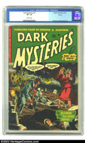Golden Age (1938-1955):Horror, Dark Mysteries #12 Aurora pedigree (Master Publications, 1953) CGCVF- 7.5 Off-white pages. As of this writing, this is the ...