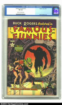 Famous Funnies #213 (Eastern Color, 1954) CGC FN 6.0 Cream to off-white pages. Have we got a bargain for you! In our Sig...