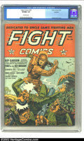 Golden Age (1938-1955):War, Fight Comics #26 Rockford pedigree (Fiction House, 1943) CGC VF/NM9.0 Off-white pages. This is a superior high-grade copy o...