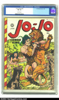 Golden Age (1938-1955):Adventure, Jo-Jo Comics #23 (Fox Features Syndicate, 1949) CGC FN- 5.5 Off-white. Good thing the folks at P.E.T.A didn't catch wind of ...