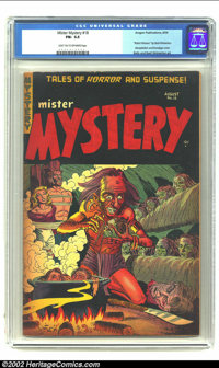 Mister Mystery #18 (Aragon Magazines, Inc., 1954) CGC FN- 5.5 Light tan to off-white pages. Experienced collectors of th...