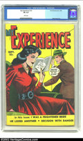Golden Age (1938-1955):Romance, My Experience #19 (Fox Features Syndicate, 1949) CGC FN 6.0 Whitepages. Cheater! Fred obviously is playing with fire, court...