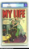 Golden Age (1938-1955):Romance, My Life #5 (Fox, 1948) CGC FN 6.0 Cream to off-white pages.Featuring Jack Kamen artwork, this wonderful copy features a ful...