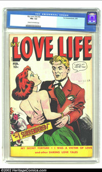"""My Love Life #10 (Fox, 1950) CGC FN+ 6.5 Cream to off-white pages. Laying claim to your gal by a, """"I won't let you..."""