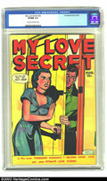 Golden Age (1938-1955):Romance, My Love Secret #25 (Fox, 1949) CGC VF/NM 9.0 Cream to off-whitepages. Super grade for a Fox book in general and for a Fox r...