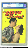 Golden Age (1938-1955):Romance, My Love Secret #53 (Fox, 1954) CGC VF/NM 9.0 Cream to off-whitepages. Keeping up with the numbering system Fox used can be ...