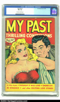 """Golden Age (1938-1955):Romance, My Past #7 (Fox, 1949) CGC FN+ 6.5 Off-white to white pages. By 1949 """"good girl"""" was no longer restricted to a few name arti..."""
