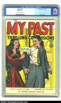 """Golden Age (1938-1955):Romance, My Past #11 (Fox, 1950) CGC FN/VF 7.0 Off-white to white pages.Wally Wood art. """"I Was a Slave to Love"""", """"I Tortured My In-L..."""