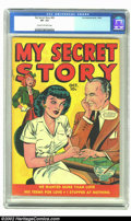 Golden Age (1938-1955):Romance, My Secret Story #26 (Fox Features Syndicate, 1949) CGC VF- 7.5Cream to off-white pages. Now, you understand these Fox roman...